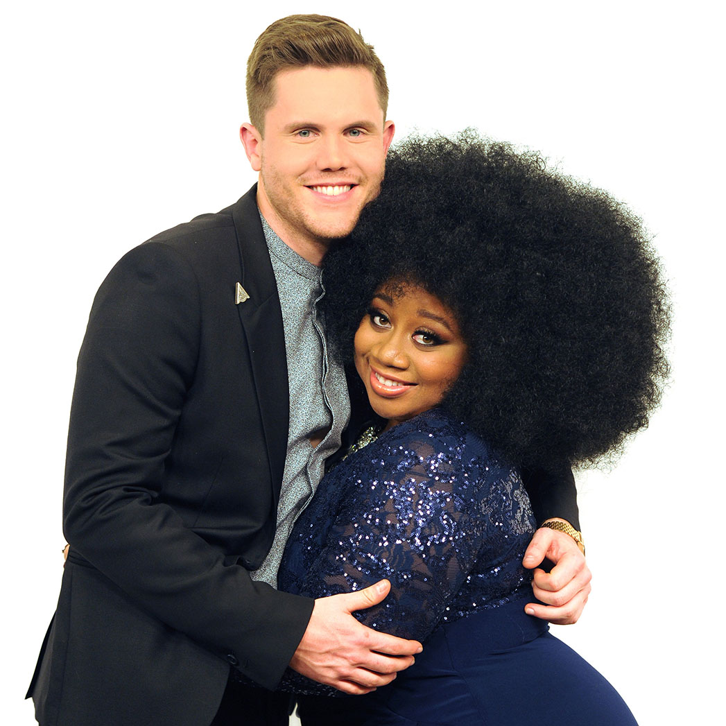 Top 2 Revealed: Contestant Trent Harmon and La'Porsha Renae on AMERICAN IDOL - SQ 2016