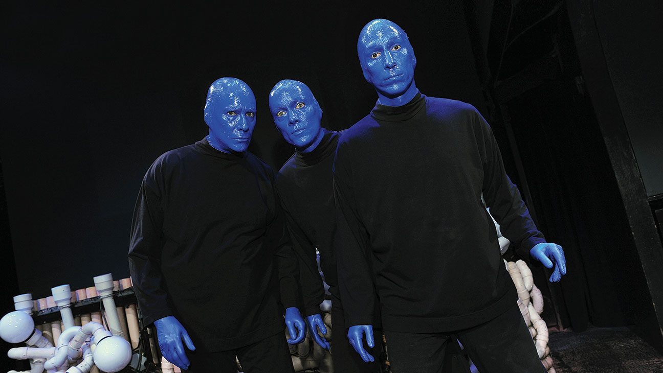 Blue Man Group founders Phil Stanton, Chris Wink and Matt Goldman - Getty-H 2016