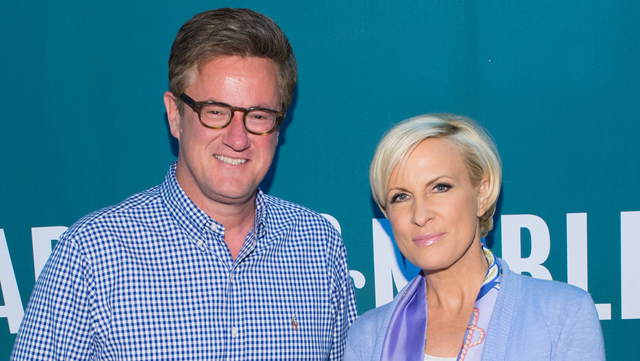 Joe Scarborough and Mika Brzezinski GETTY - H 2016