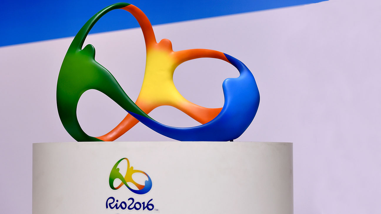 The official logo for the Rio 2016 Olympics -Getty-H 2016