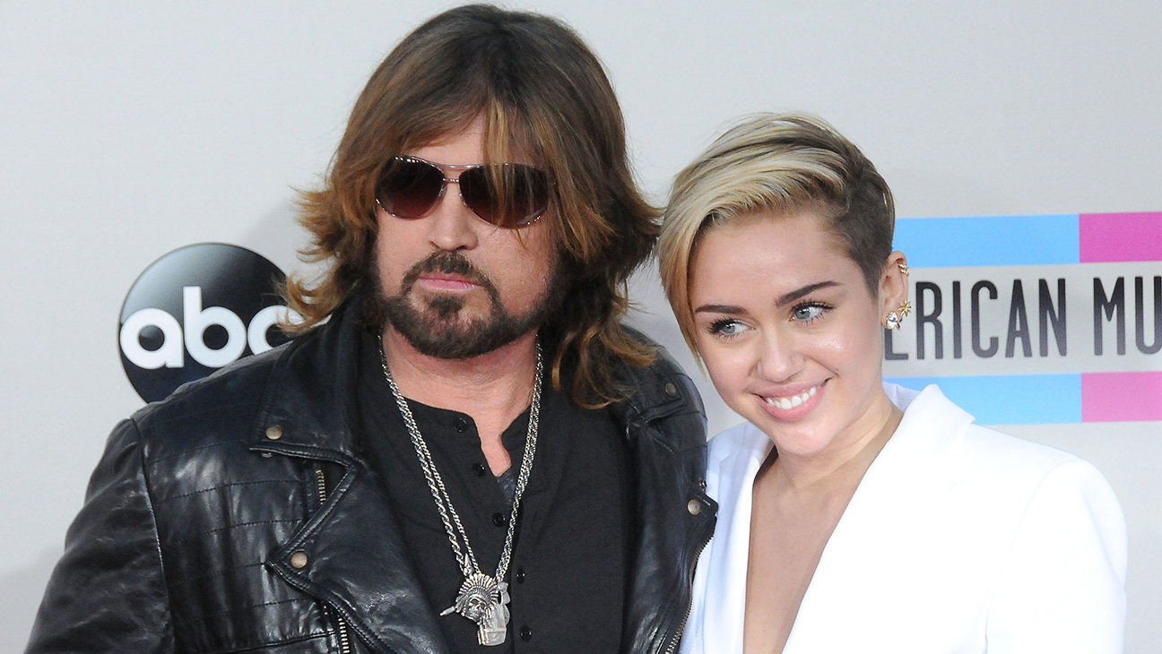 miley and billy ray cyrus GETTY - H 2016