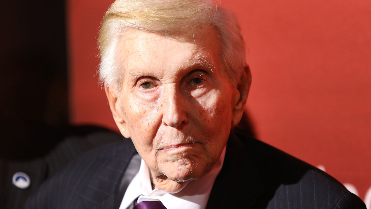 Sumner Redstone -The Hollywood Reporter's party held at Spago -Getty-  H 2016