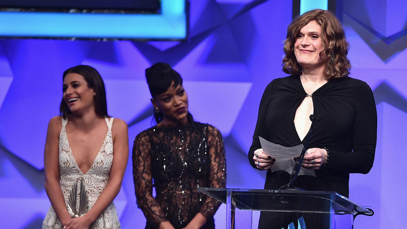 Lilly Wachowski- 27th Annual GLAAD Media Awards -Getty-H 2016