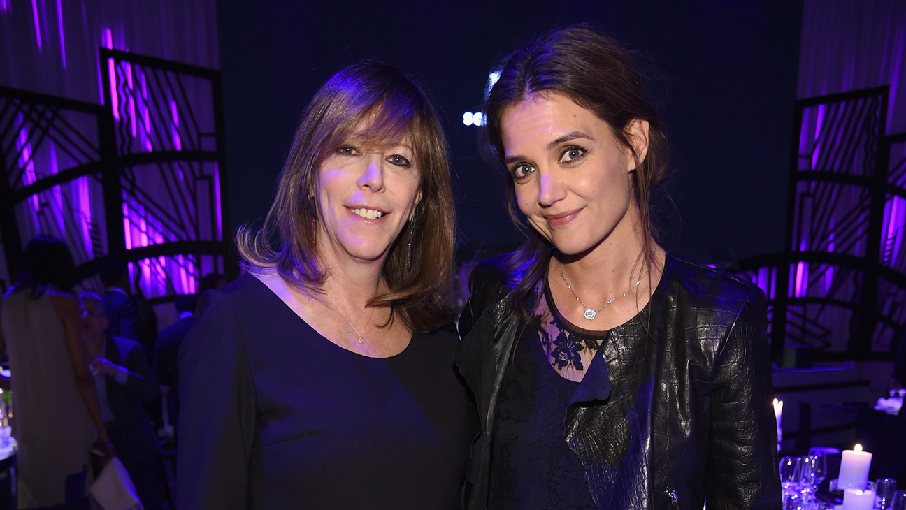 Katie Holmes and Jane Rosenthal GETTY - H 2016