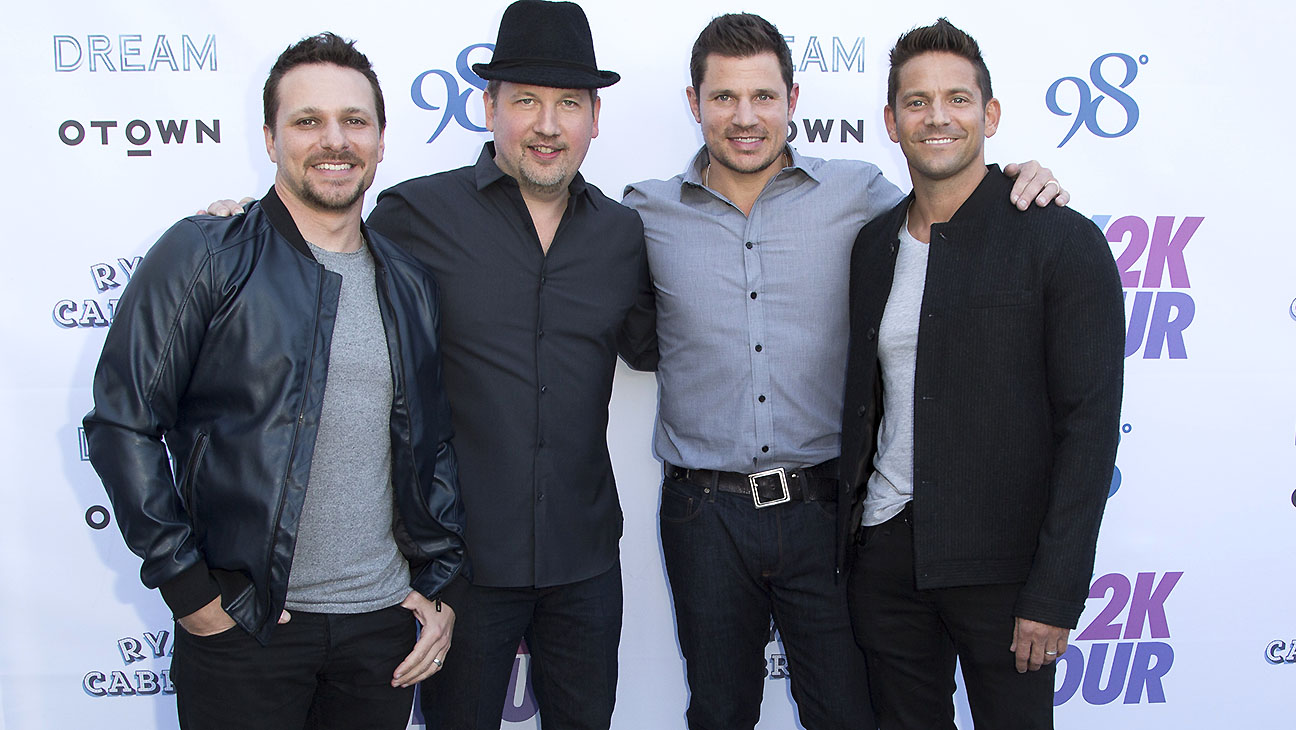 My2k tour launch with 98 Degrees - Getty-H 2016