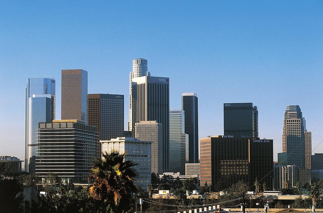 Los Angeles Skyline GETTY H 2016