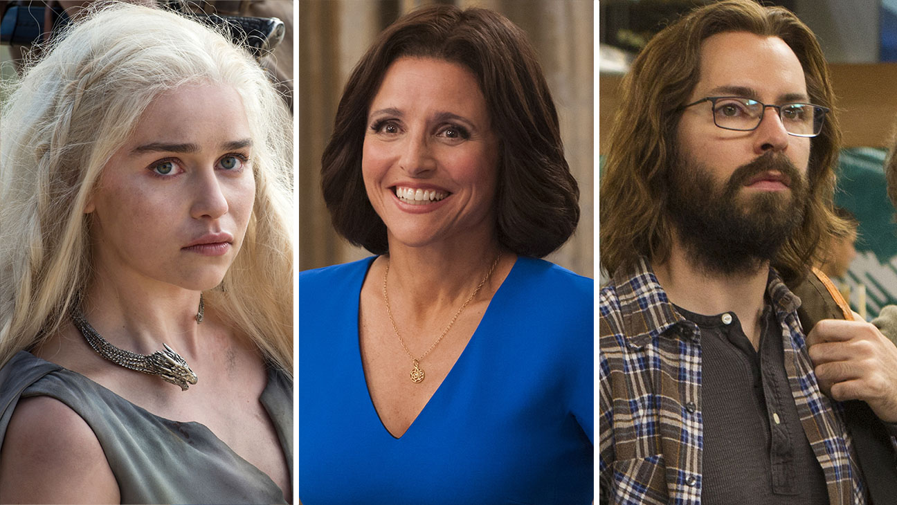 game of thrones, veep and silicon valley split-H 2016