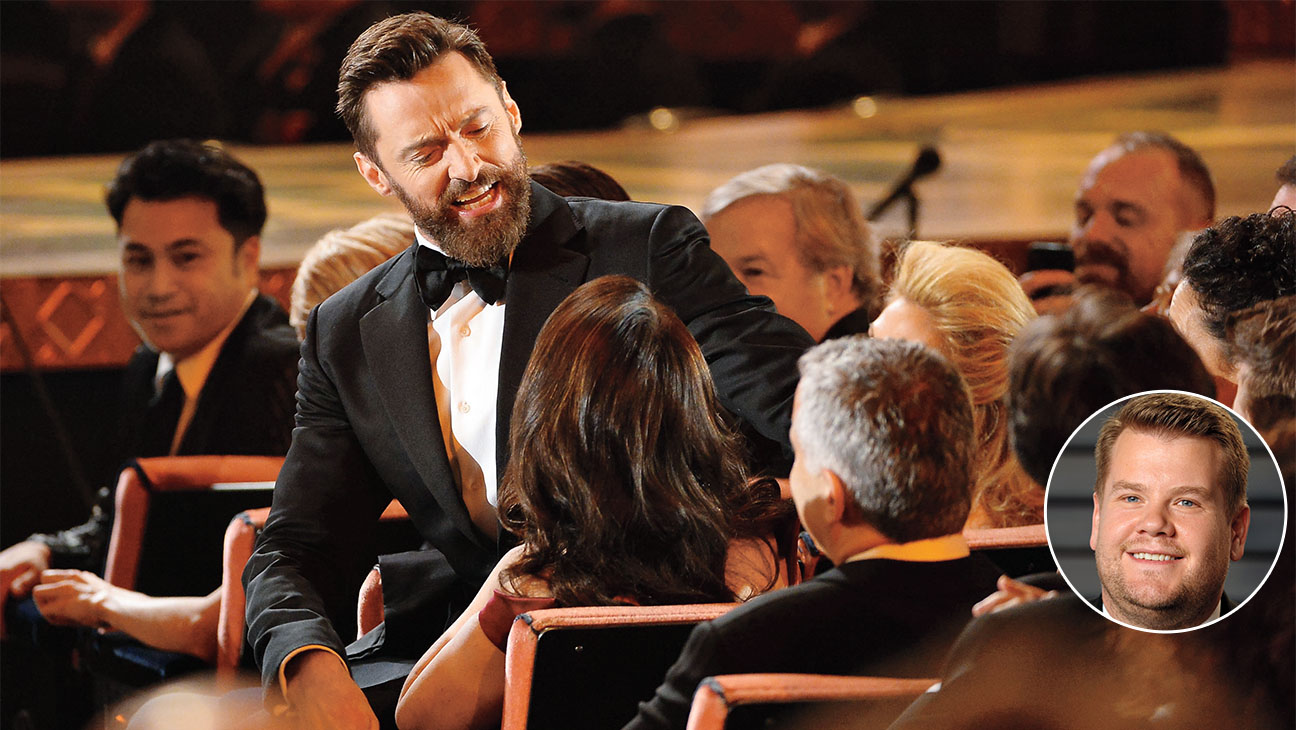Hugh Jackman Offers James Corden Advice for Hosting the Tony Awards- Getty-H 2016