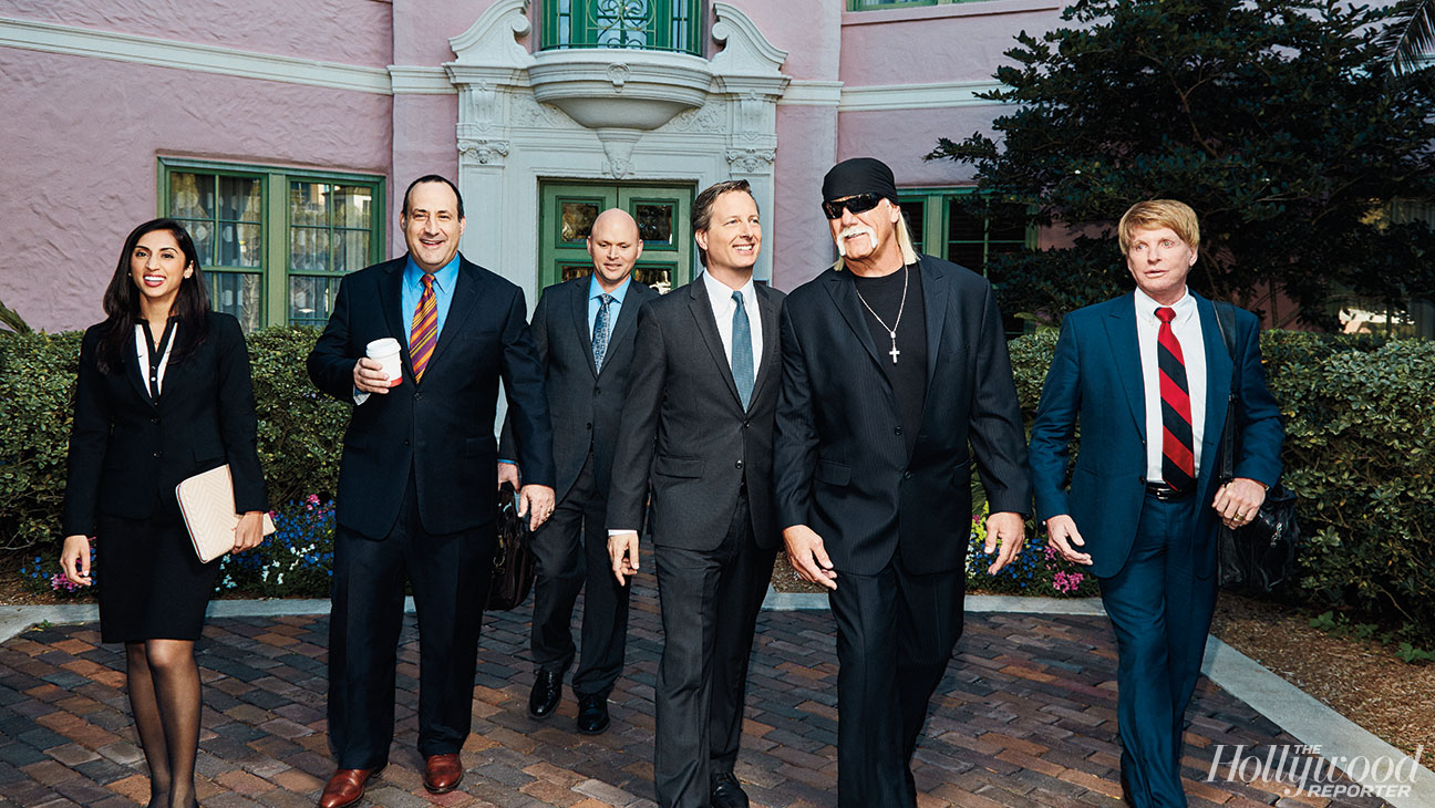 POWER LAWYERS 2016: CHARLES HARDER AND TEAM with client HULK HOGAN - H 2016