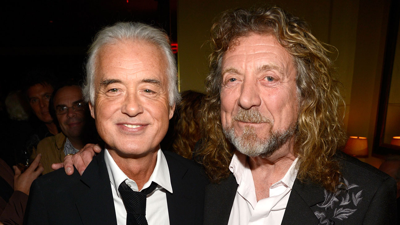 Jimmy Page Robert Plant - Getty - H 2016