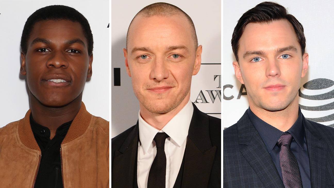 John Boyega, James McAvoy and Nicholas Hoult split  - H 2016