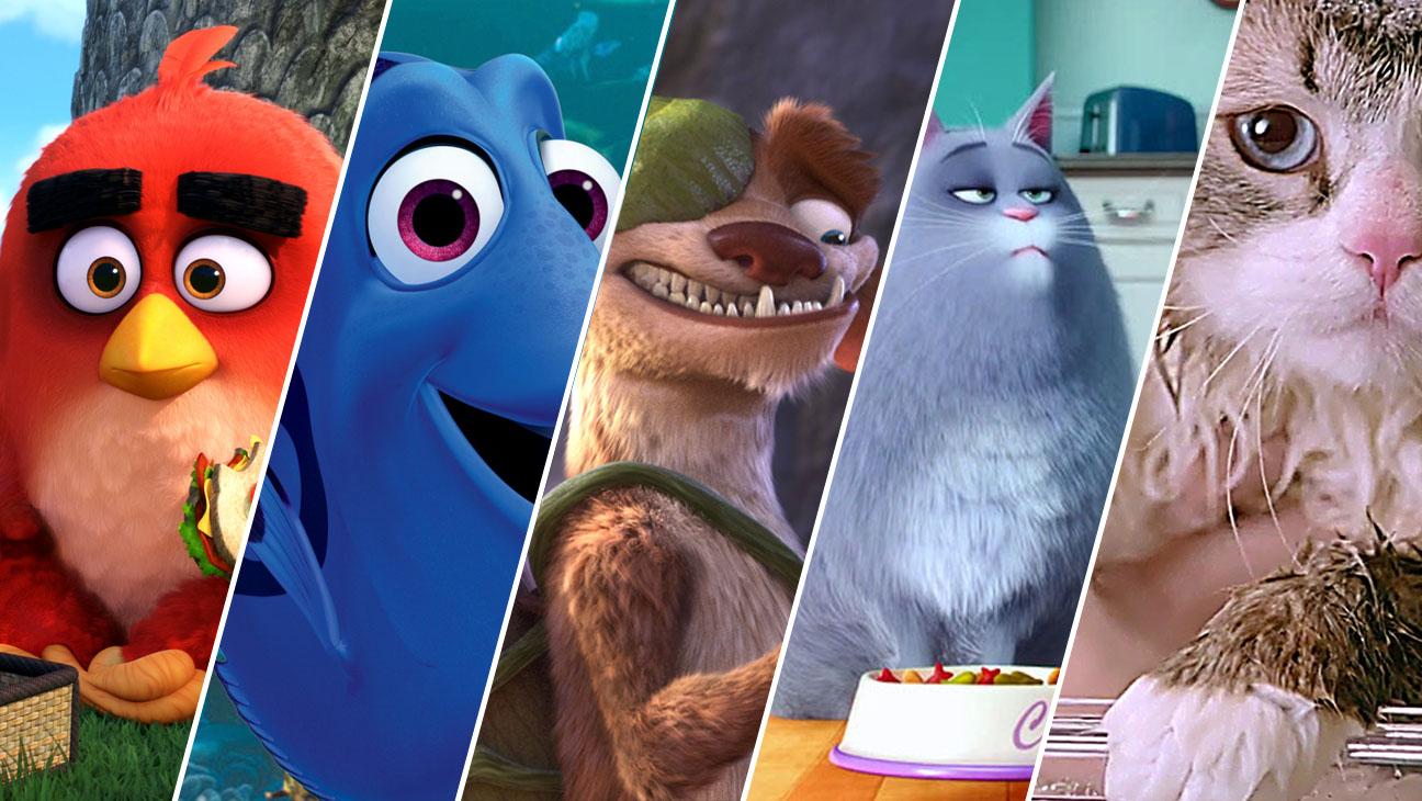angry birds movie, finding dory, ice age, secret life of pets, nine lives  - H 2015