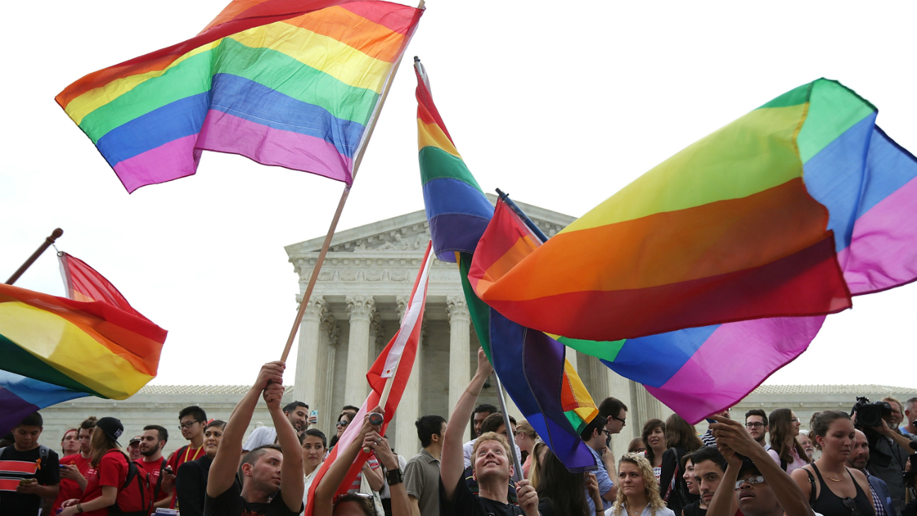 Supreme Court Gay Marriage - Getty - H 2016