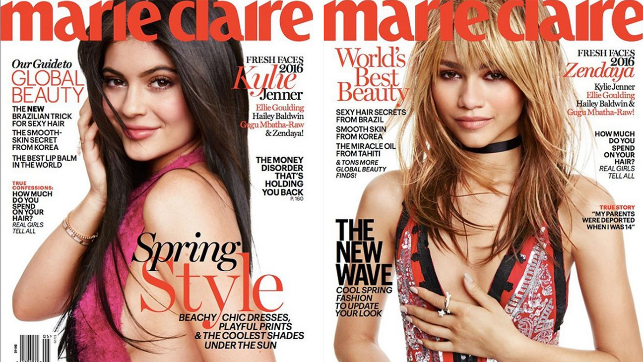Marie Clare Magazine Covers  - H 2016