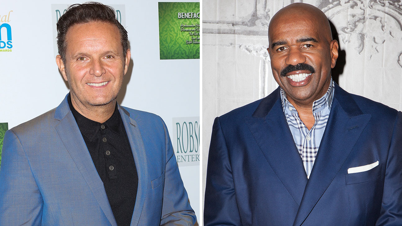 mark burnett and steve harvey Split- Getty-H 2016