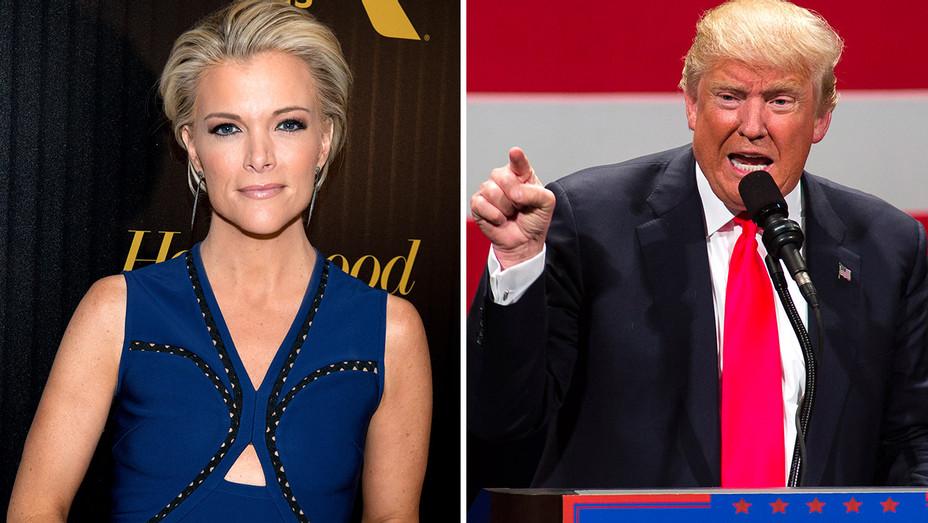 Megyn Kelly and Donald Trump Split - H 2016