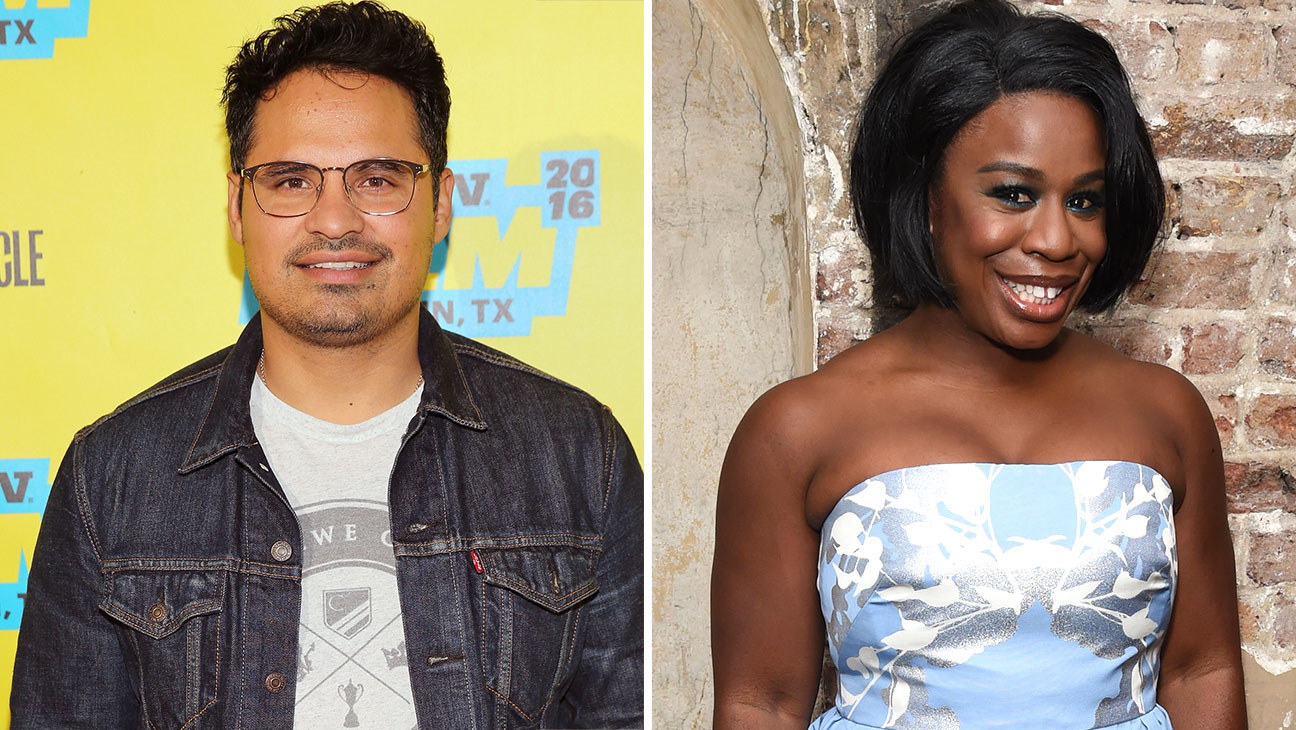 Michael Pena and Uzo Aduba Split- Getty-H 2016