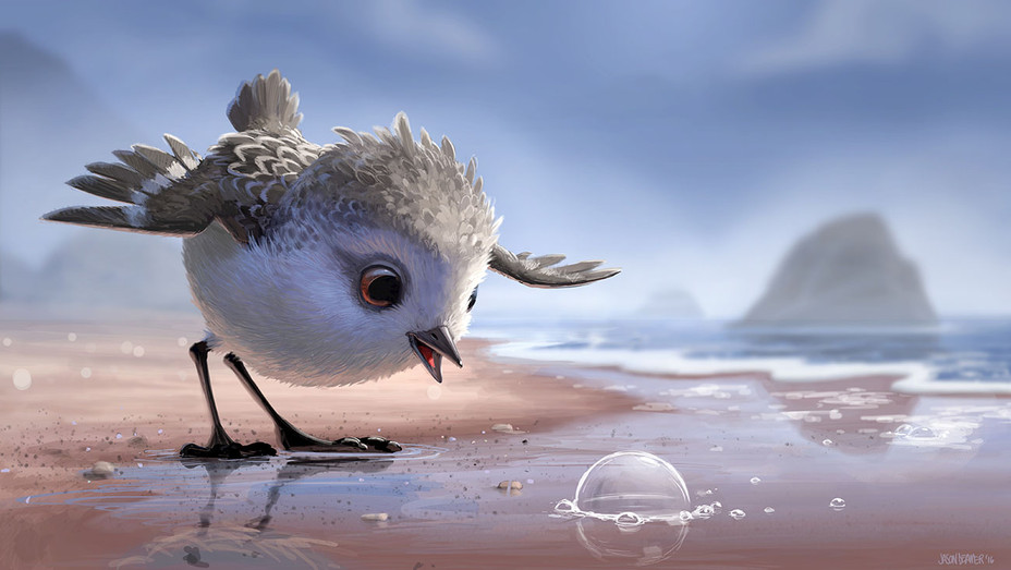 Concept Art by Jason Deamer -New Pixar Short - PIPER-H 2016