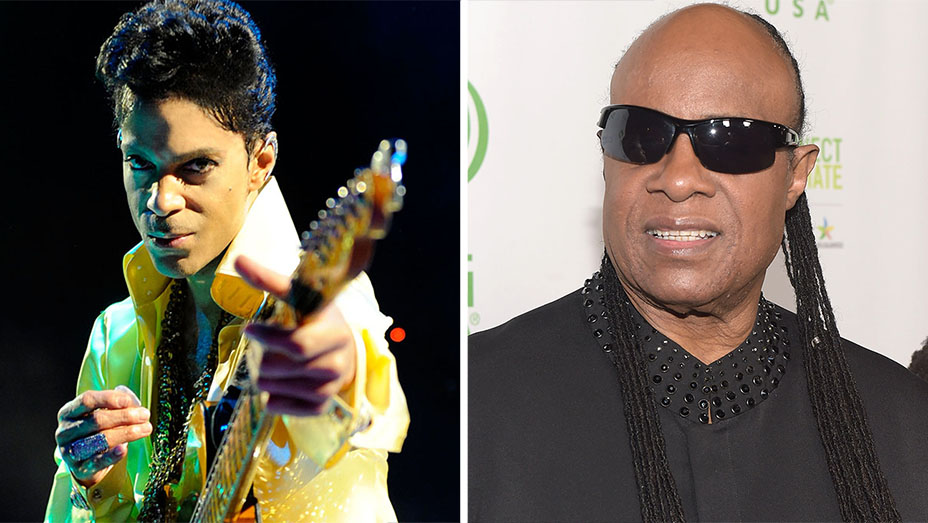 Prince and Stevie Wonder SPLIT- H 2016