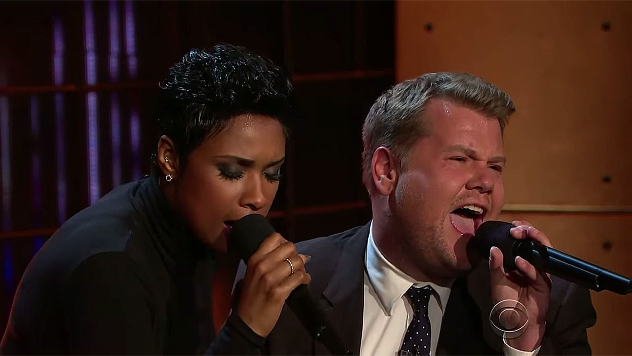 Public Domain Songs with Jennifer Hudson and James Corden -H 2016