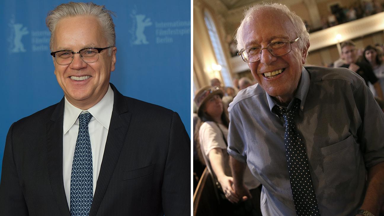 Tim Robbins and Bernie Sanders - H  2016