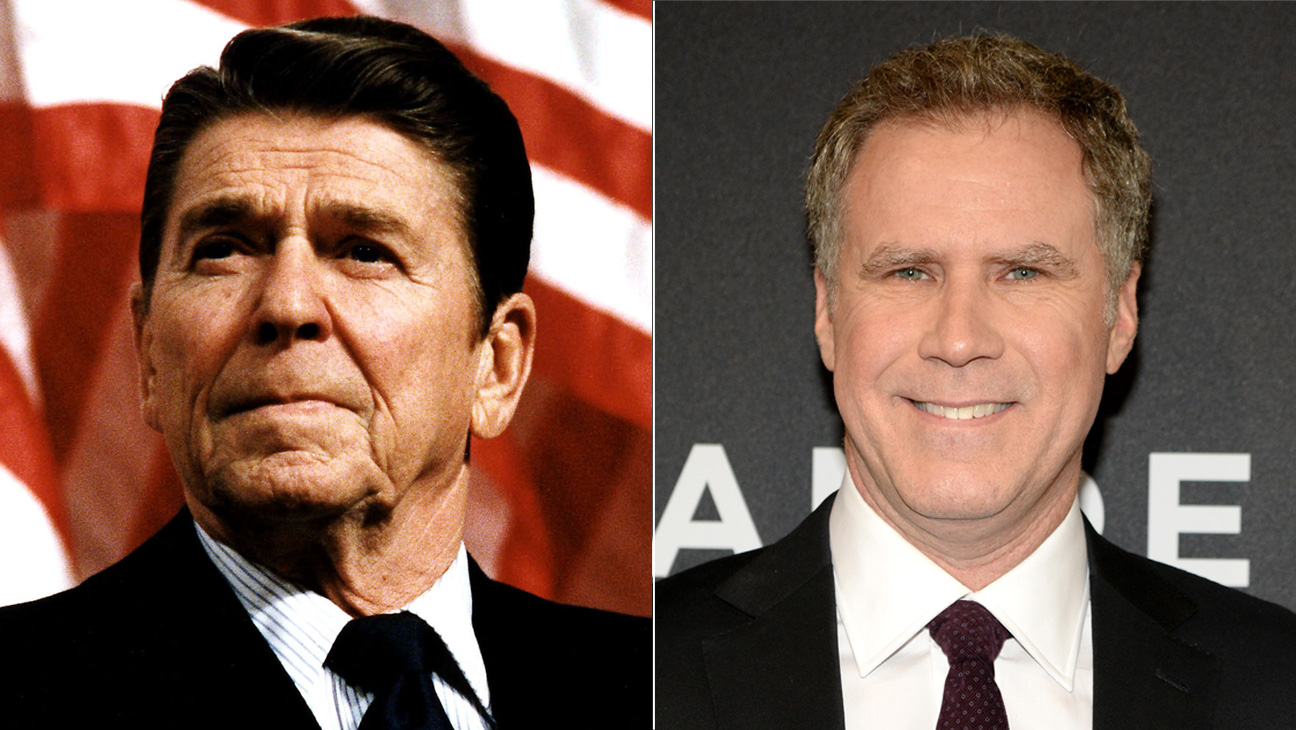 Ronald Reagan and Will Ferrell - H 2016