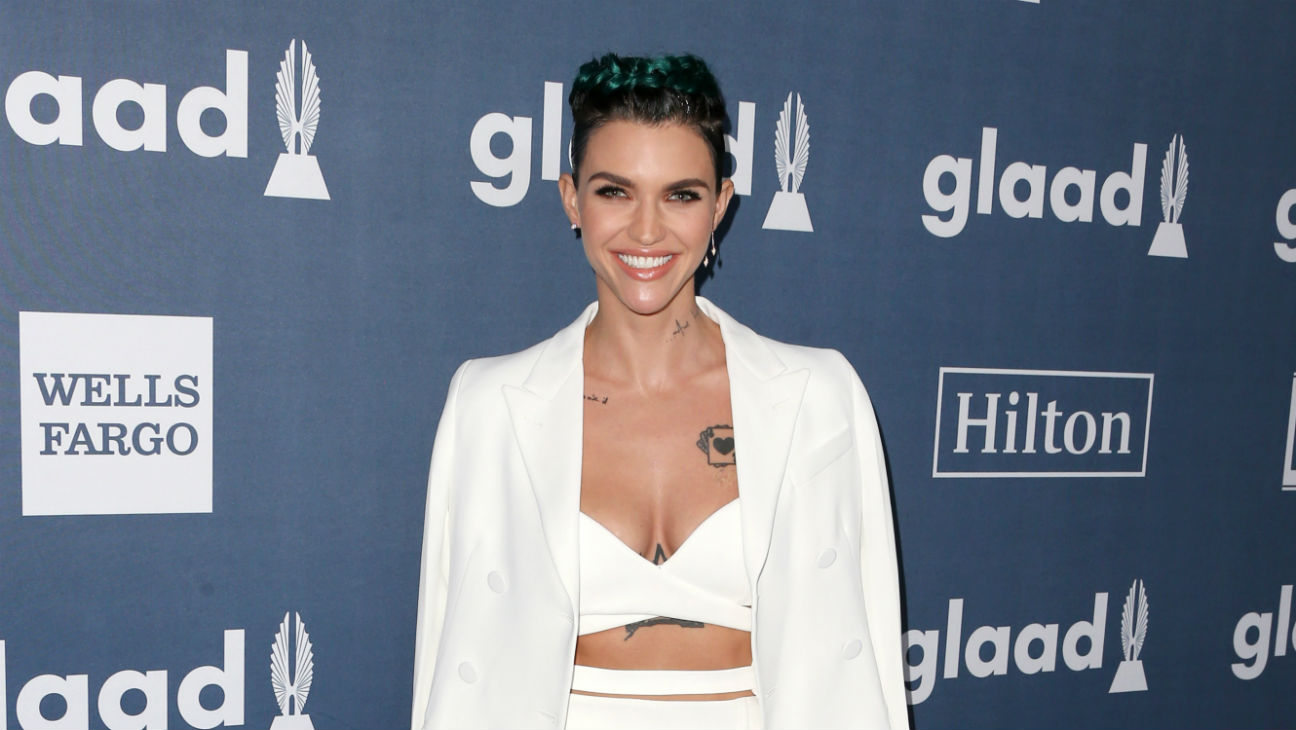 Ruby Rose GLAAD Awards - Getty - H 2016