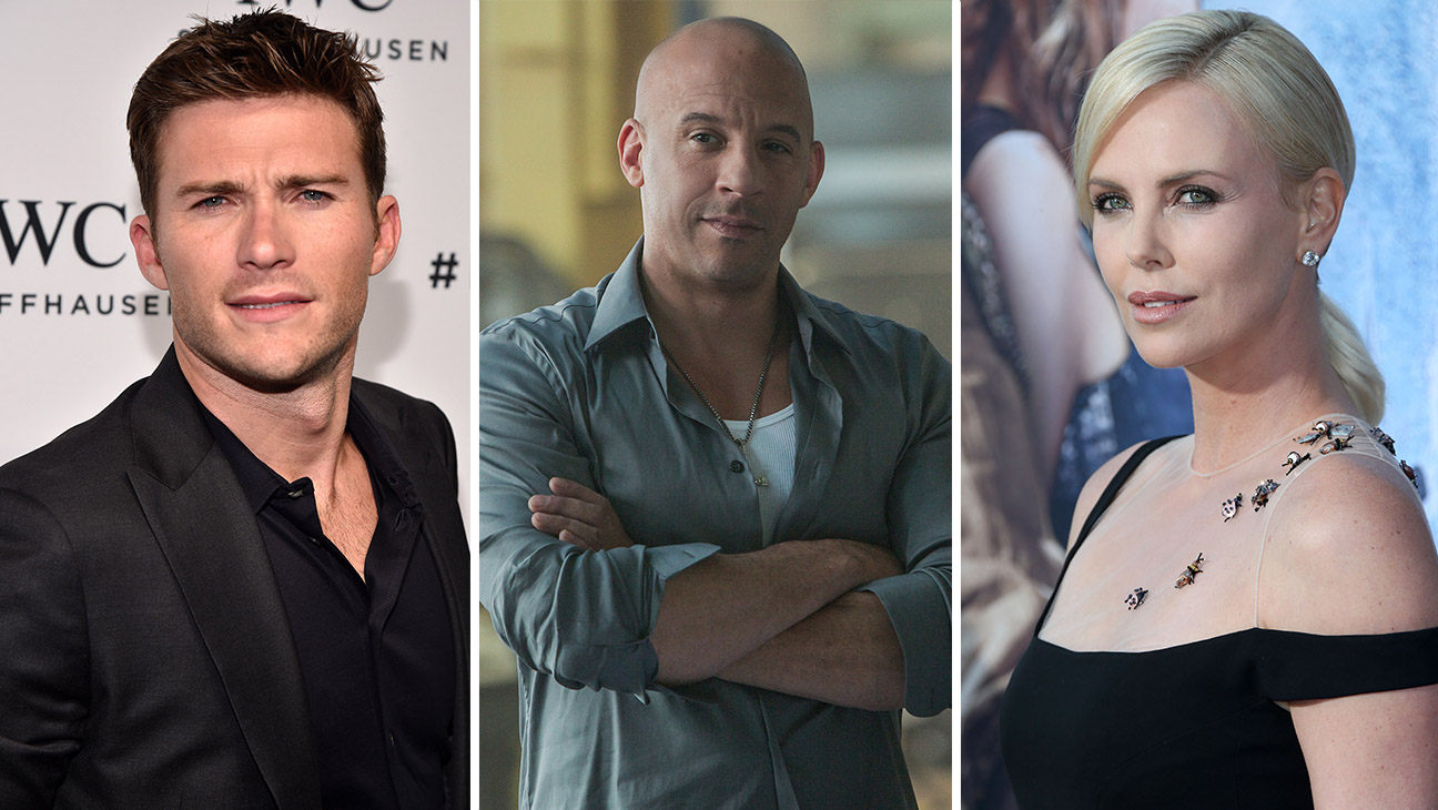 scott eastwood, Vin Diesel and charlize Theron - H  2016