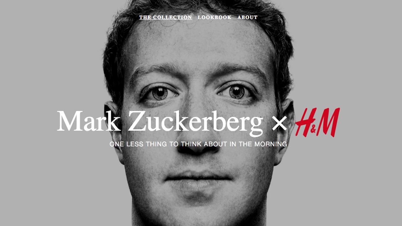 H and M and Mark Zuckerburg - H 2016