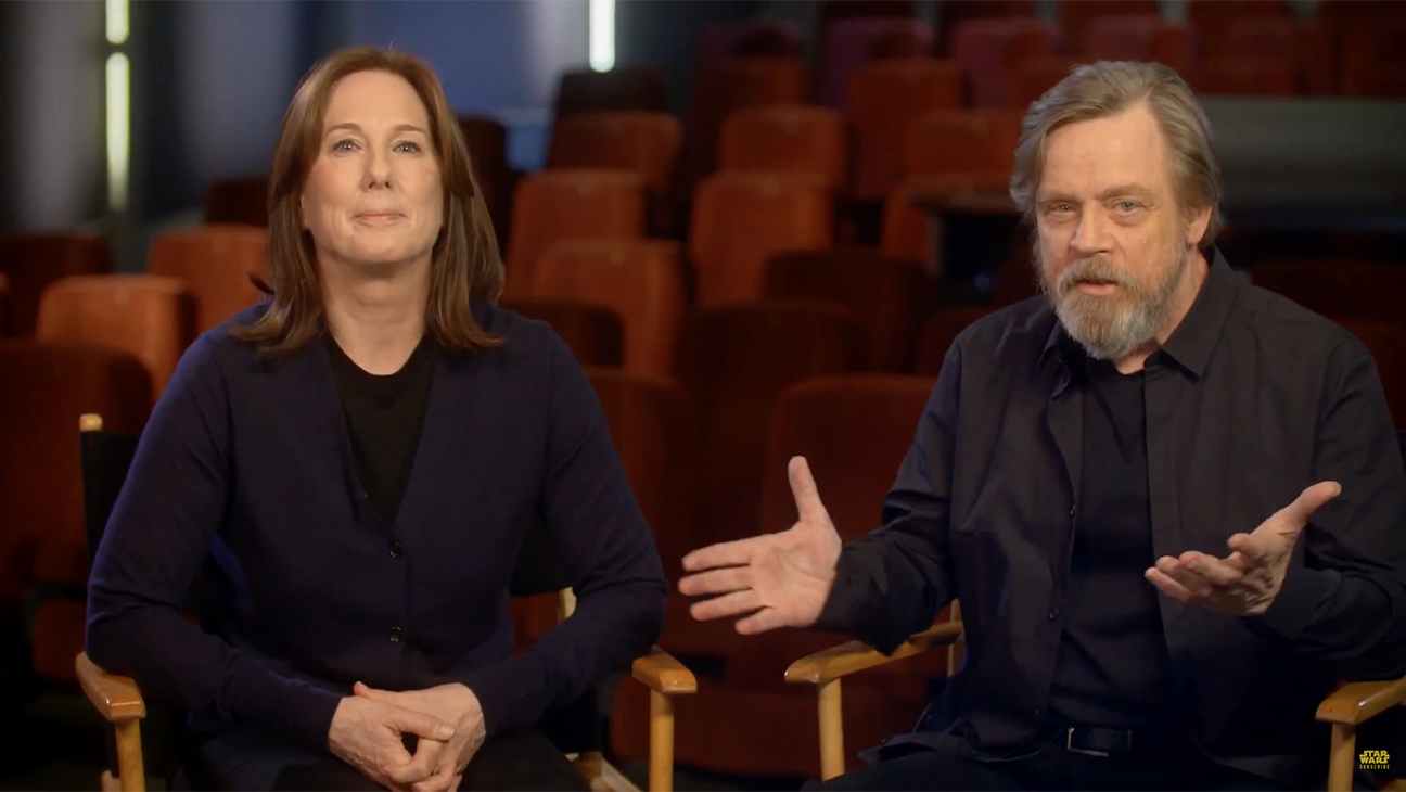 Mark Hamill and Kathleen Kennedy Announce New Campaign - H 2016
