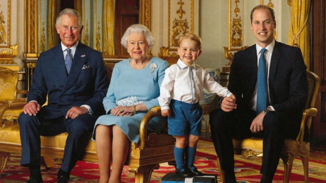 Four Generations of Royal Family - H 2016