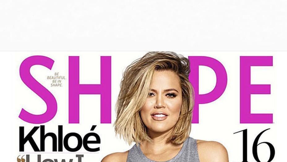 Shape magazine-Screen shot- Khloe-P 2016