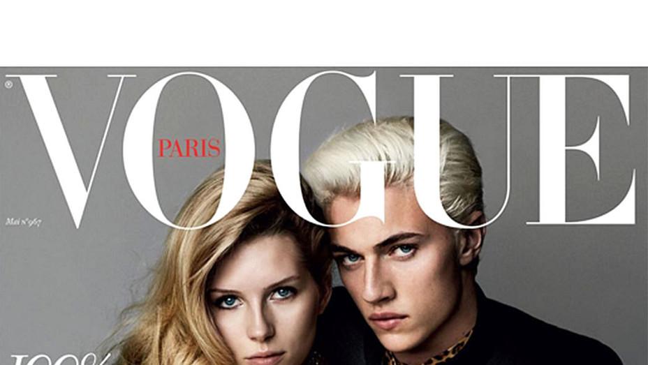 Vogue Paris on Instagram: Lucky boy: Golden girl Lottie Moss - P 2016