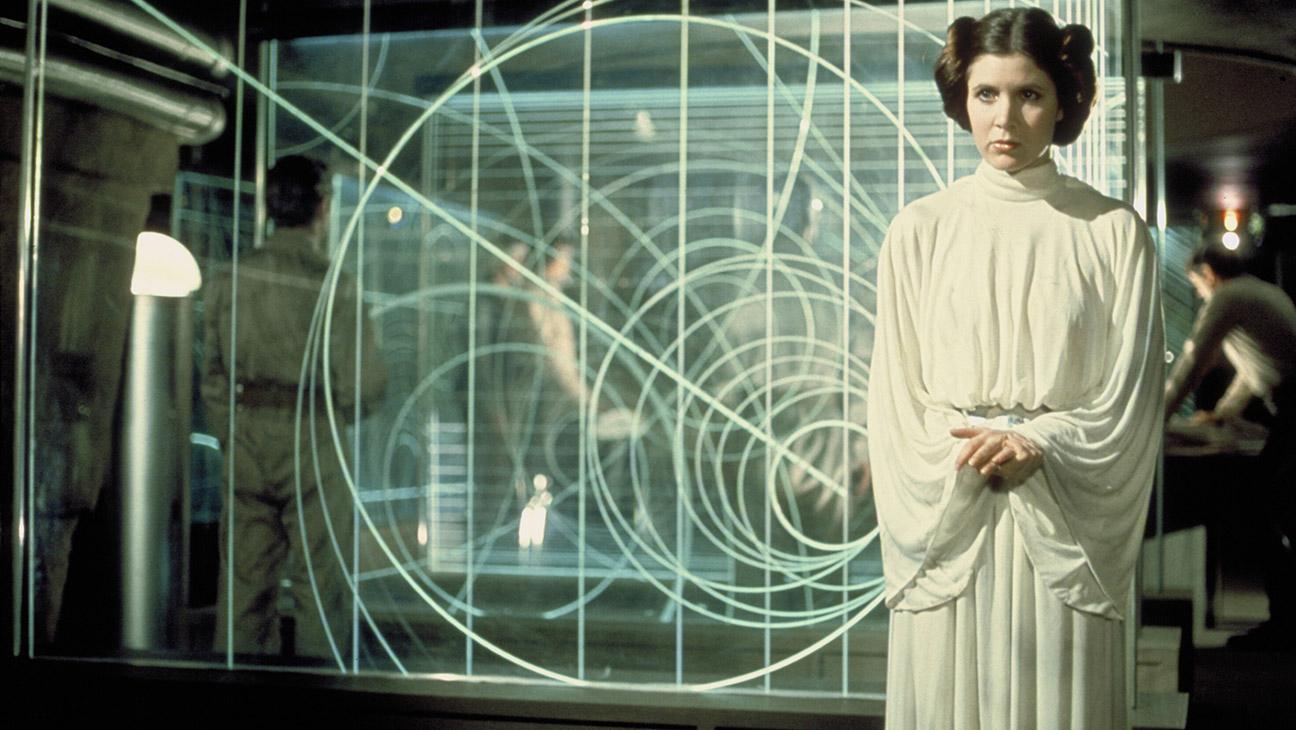 Princess Leia in 1977's 'Star Wars' - H 2016