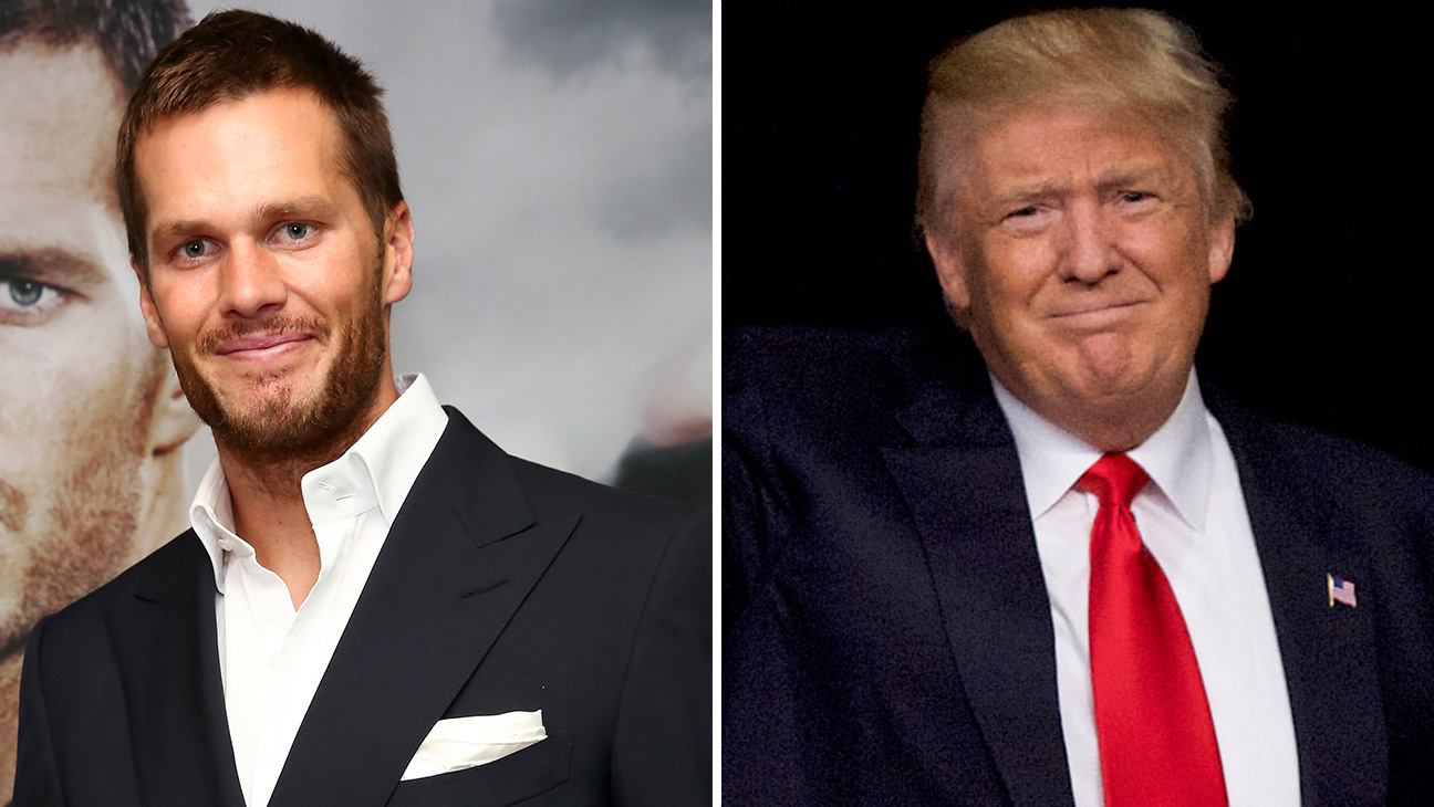 Tom Brady and Donald Trump GETTY - H 2016