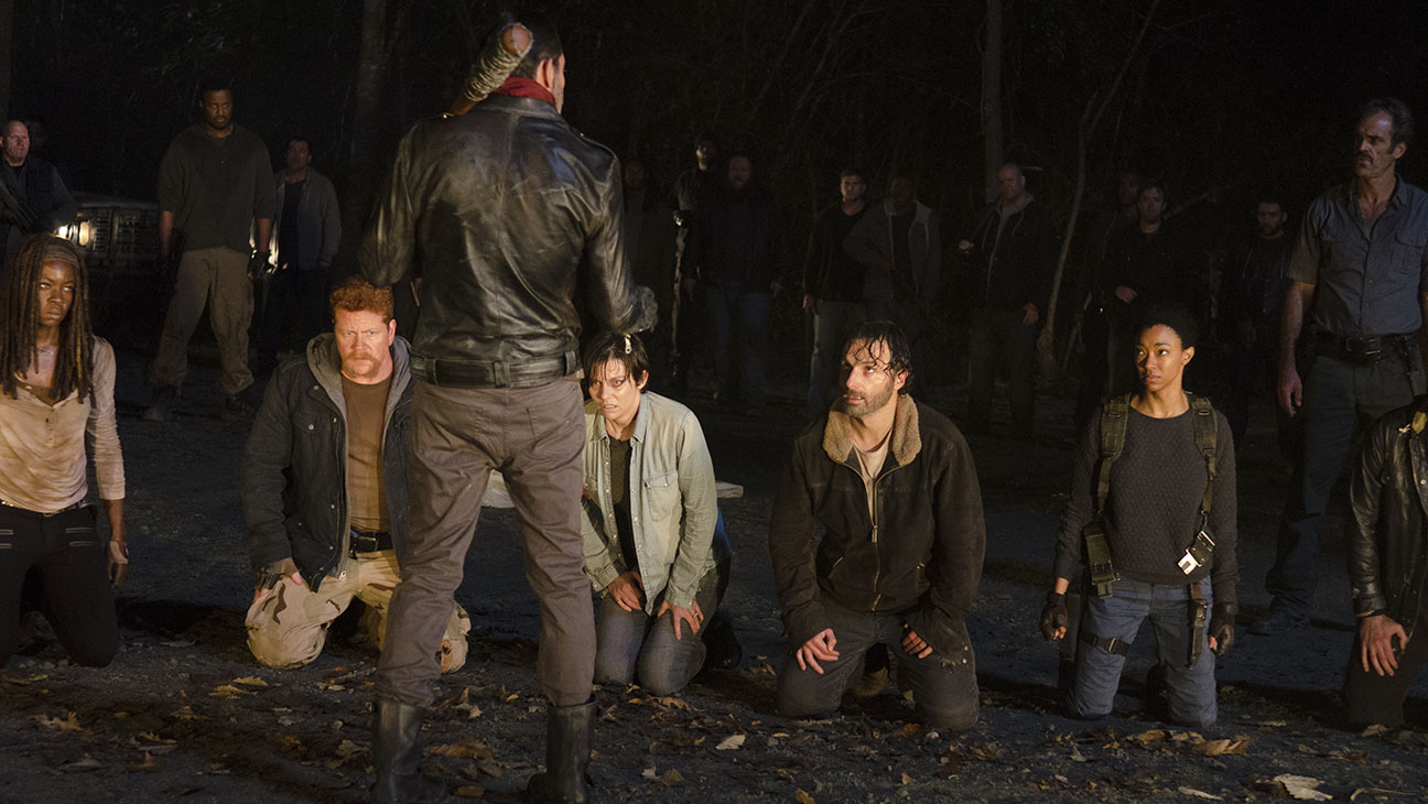 The Walking Dead - Season 6, Episode 16 -Still 4- Negan BACK-H 2016