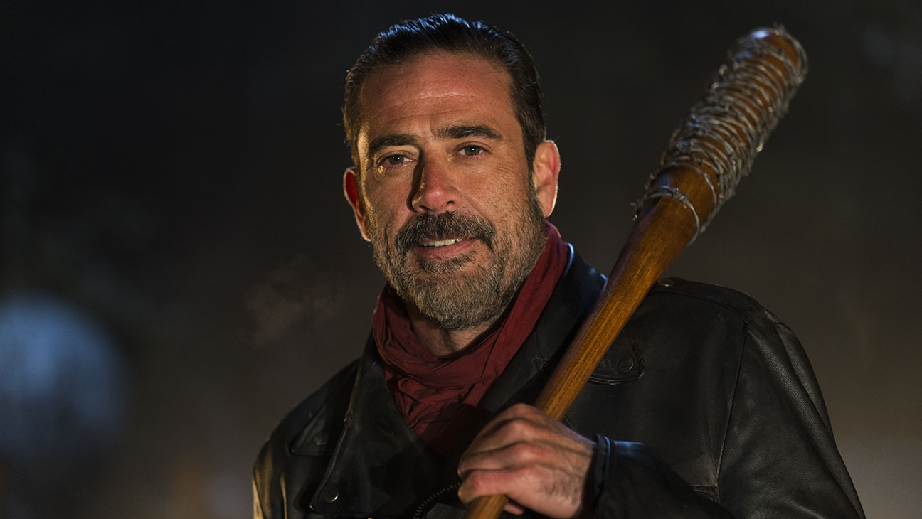 The Walking Dead - Season 6, Episode 16 -Still 2-Jeffrey Dean Morgan as Negan-H 2016