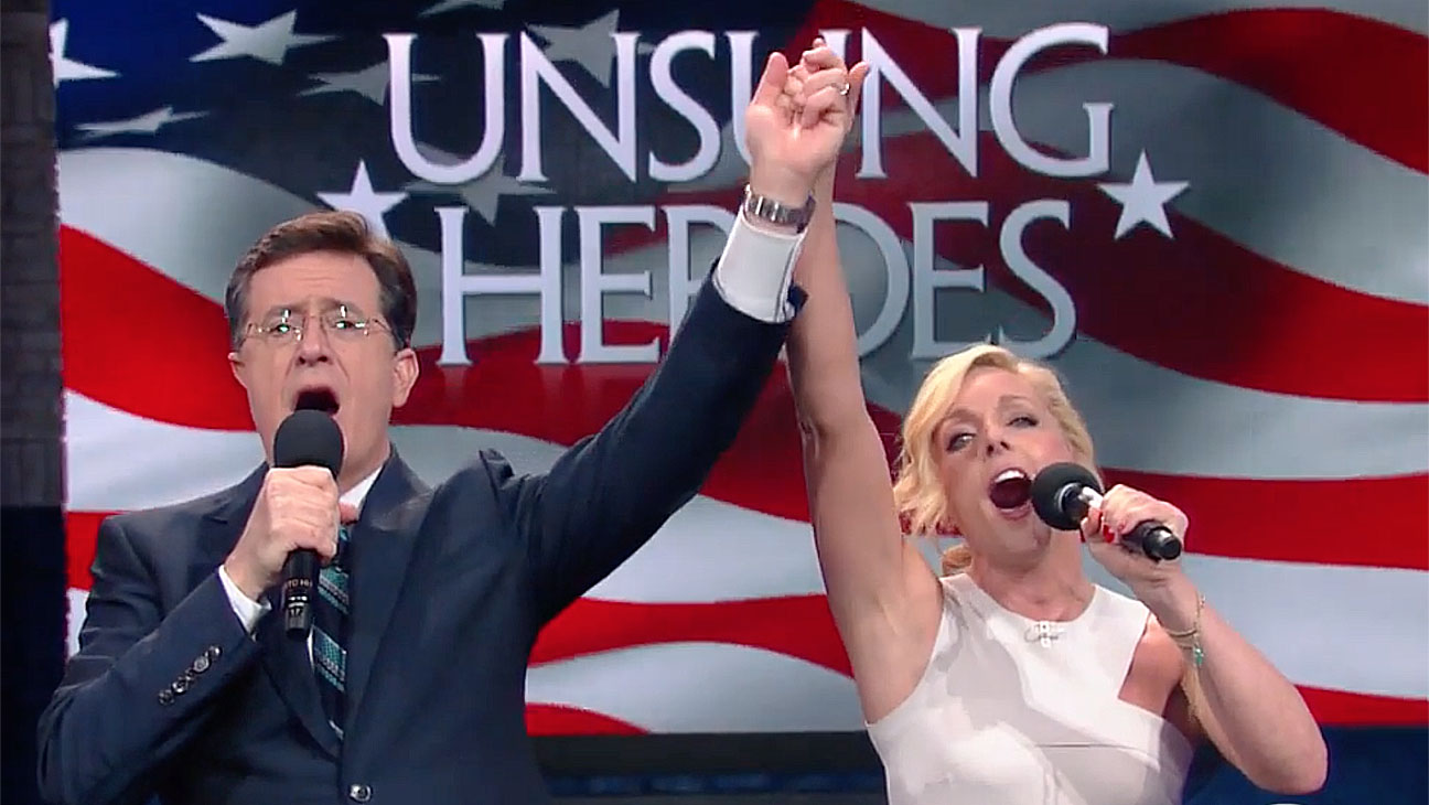 Unsung Heroes Are Finally Sung (with Jane Krakowski) - Screen shot-H 2016