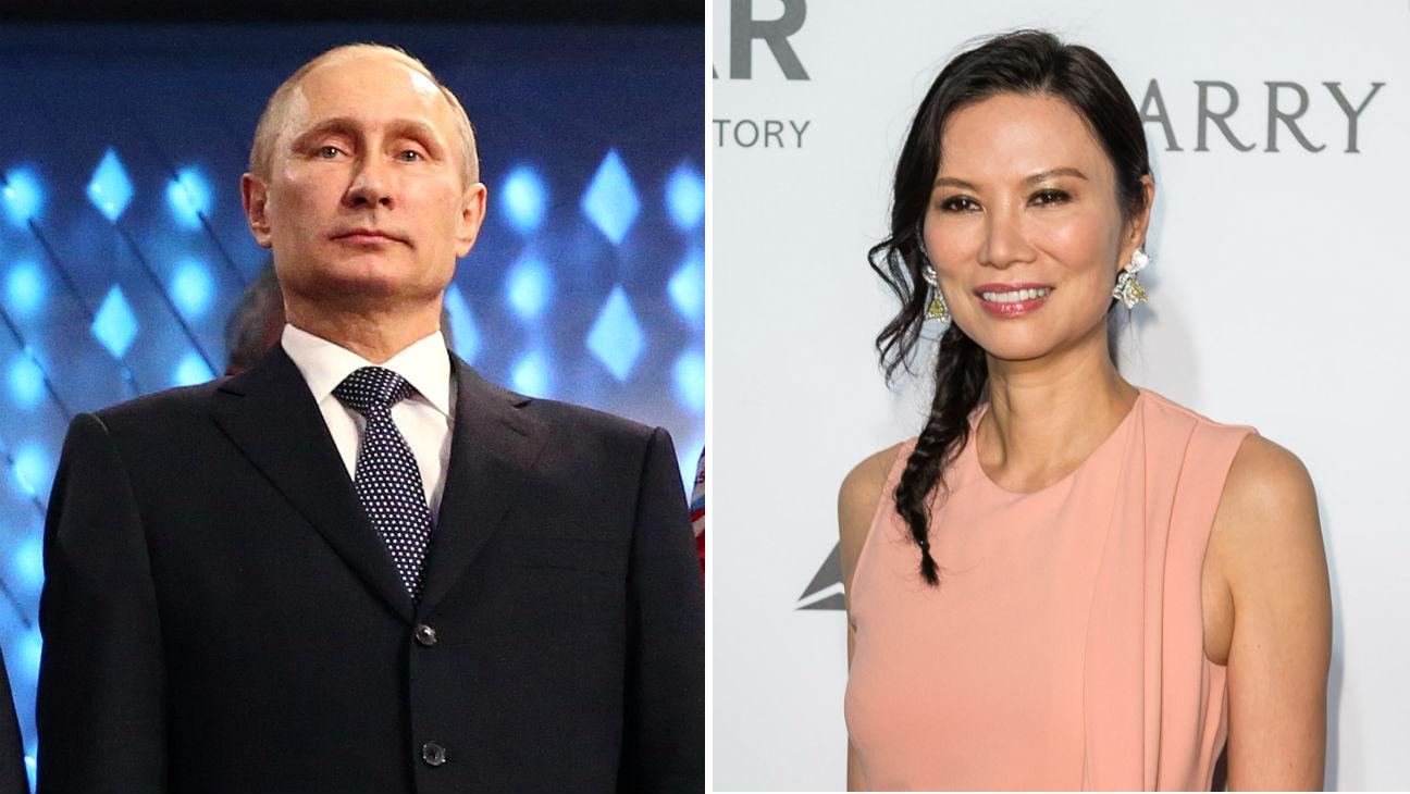 Russian Media Scoff At Report Of Vladimir Putin Dating Wendi Deng Hollywood Reporter