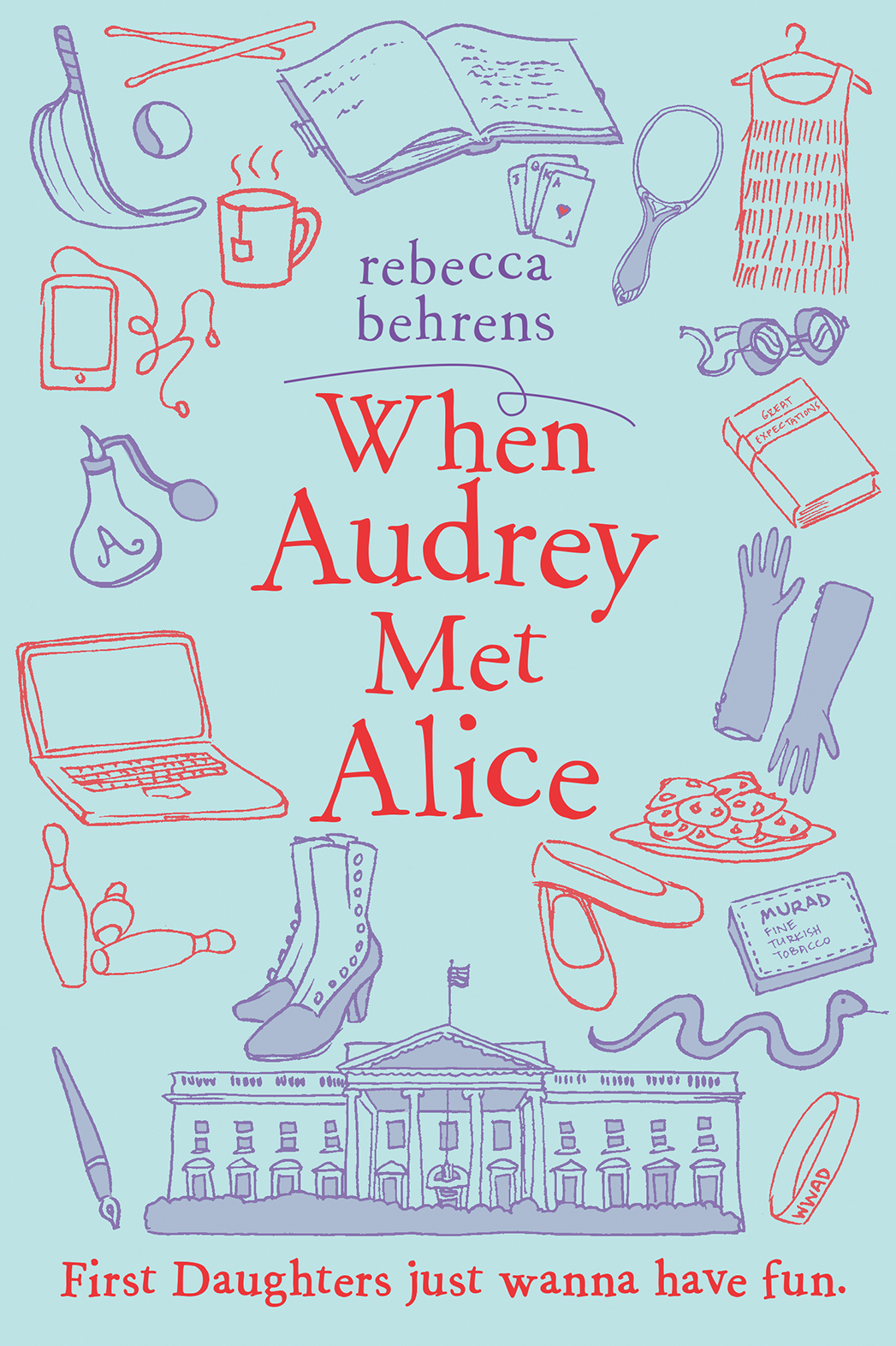 When Audrey Meets Alice book cover - P 2016
