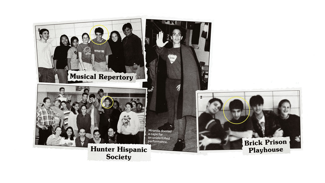Lin-Manuel Miranda's 1998 High School Yearbook Photo - H 2016