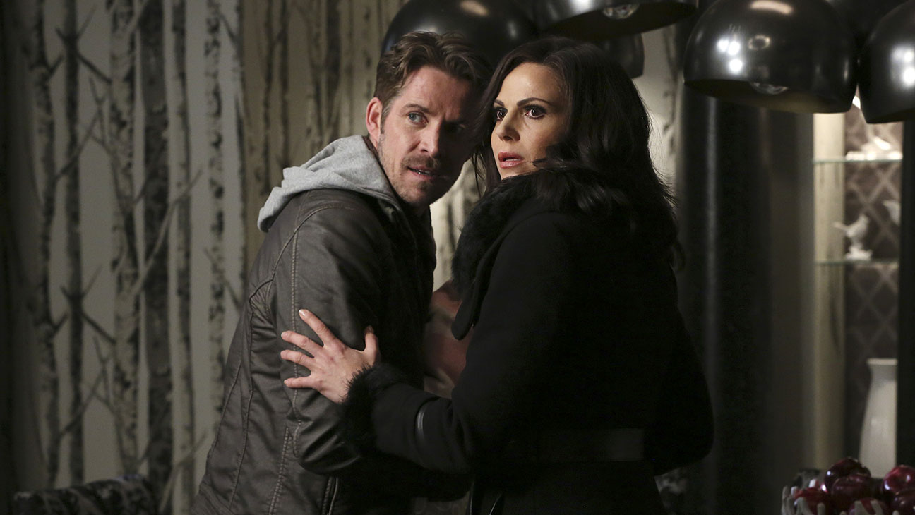 "ONCE UPON A TIME - ""Last Rites"" --Sean Maguire and Lana Parilla -H 2016"