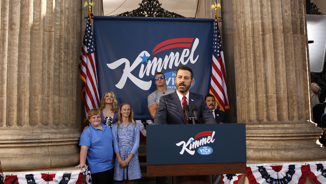 JIMMY KIMMEL LIVE -for vice pres-H 2016