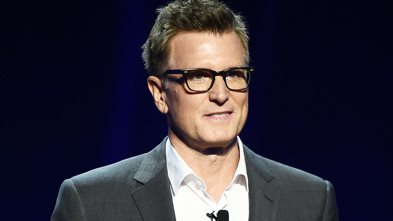 Kevin Reilly appears on stage during Turner Upfront 2016 show 2-H 2016