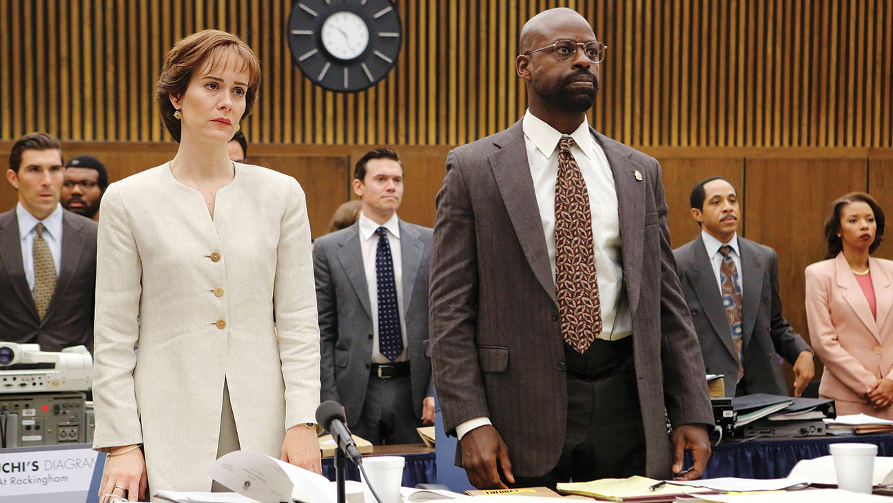 THE PEOPLE v. O.J. SIMPSON: AMERICAN CRIME STORY-Sarah Paulson and Sterling K. Brown -H 2016