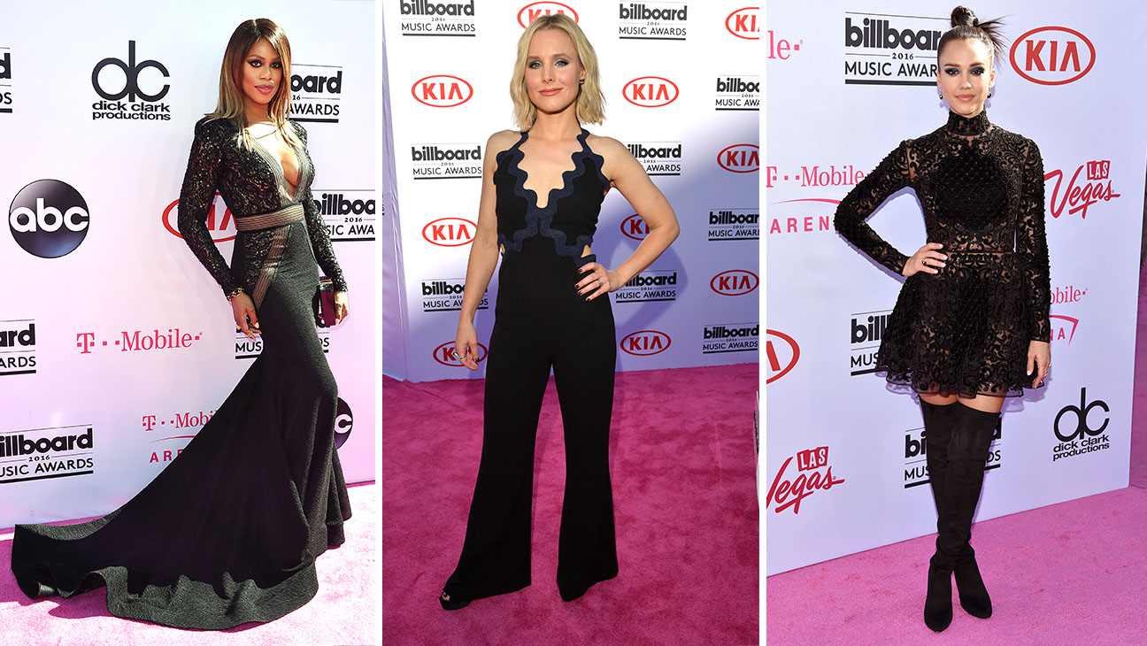 Black trend story - laverne cox, kristen bell and jessica alba-Split-H 2016