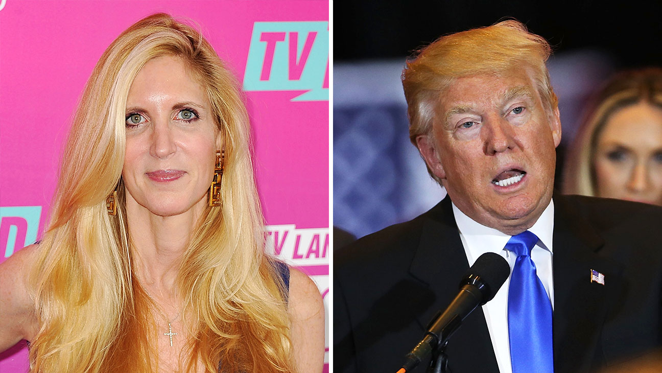 ann coulter and donald trump Split - Getty - H 2016