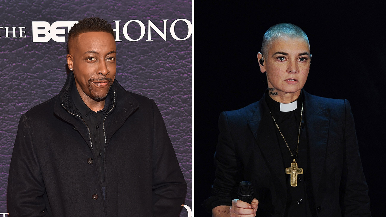 Arsenio Hall and Sinead O'Connor Split - Getty - H 2016