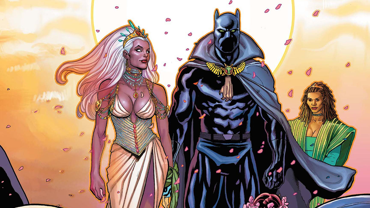 Black Panther Wedding - Publicity - H 2016