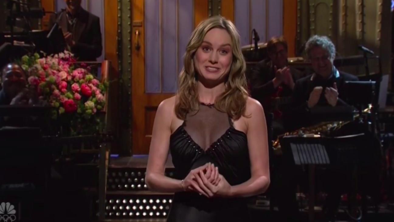 Brie Larson SNL - H 2016